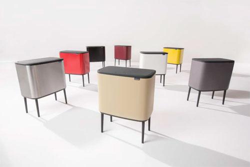 La Bo Touch Bin Poubelle Design Deco Ideo